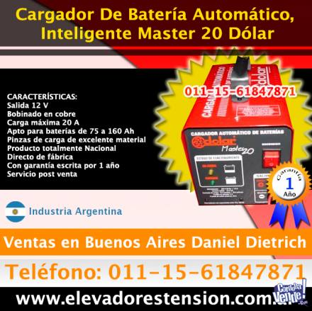 Cargador Portatil 24V 30A ... Cargador Automático p/ Bater