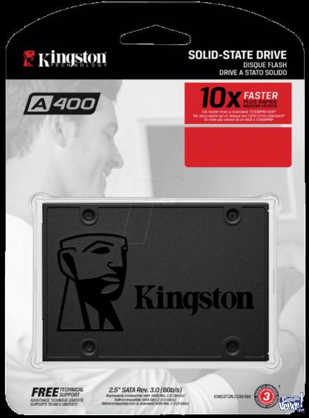 SSD 120GB KINGSTON A400 SATAIII 2.5