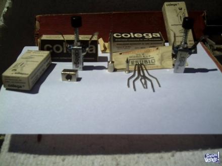Combo.Antiguo extractor COLEGA, con puntas para soldar.. en Argentina Vende