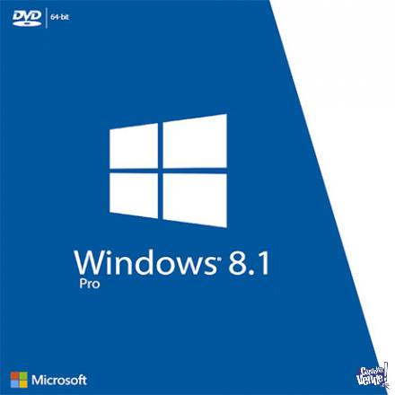 Windows 8.1 Profesional 64 Original En Caja Sellada OBLEA