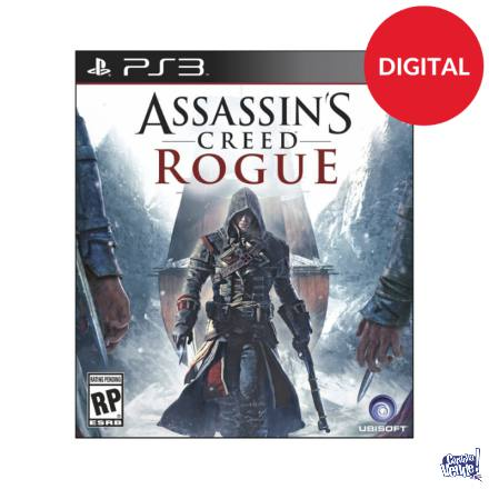 Assassins creed Rogue Ps3 Digital