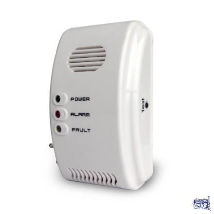 Detector Dual Gas Natural Y Monóxido De Carbono Alarma 220v