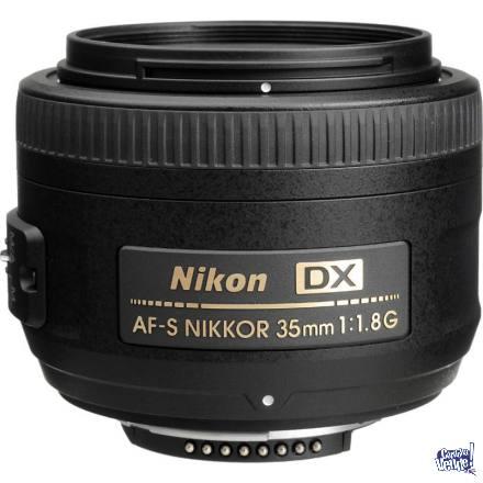 Estandar Fijo AF-S Nikkor 35mm f/1.8G DX