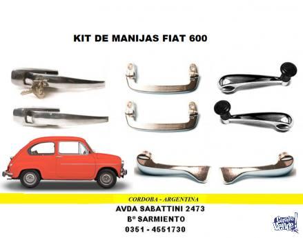 JUEGO DE MANIJAS FIAT 600 en Argentina Vende