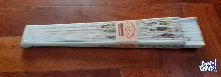 Abanico Español elaborado en Madera y pintado a mano
