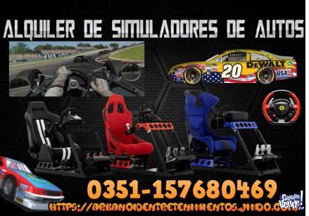 ALQUILER DE SIMULADORES DE AUTO JUEGO DE CARRERA ARCADE