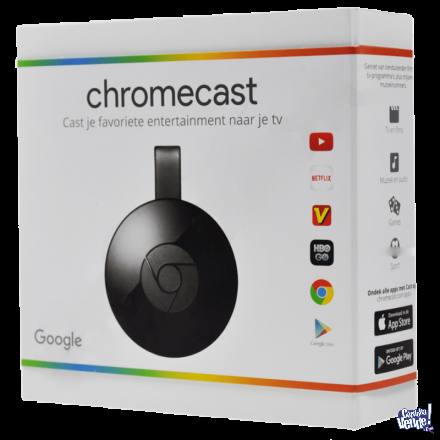 GOOGLE CHROMECAST TV 2 - PARA HACER SMART TU TELE! ORIGINAL!