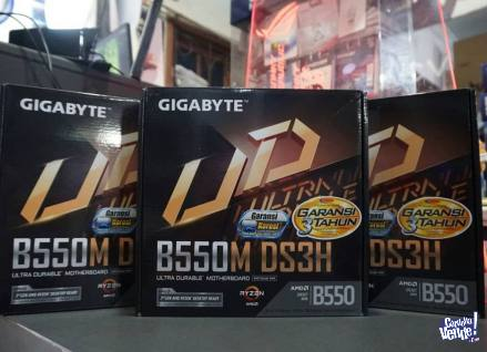 Gigabyte B550M DS3H Ultra Durable Gaming Motherboard en Argentina Vende