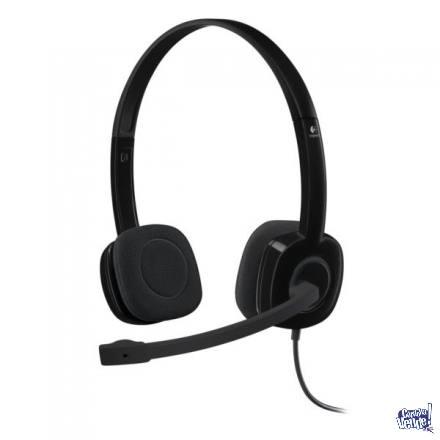 Auricular Headset Logitech H151 Micrófono 3.5mm Miniplug