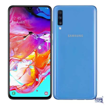 Samsung A70 128gb128gb Funda 3 Cam 4k 6.7 4500mah AHORA12!