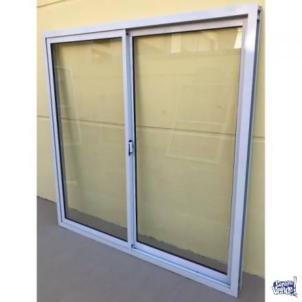 Ventana de alumino 1,50 x 1,50, línea herrero con vidrio en Argentina Vende