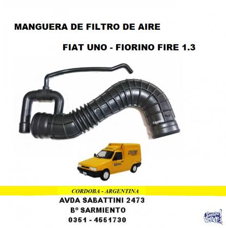 MANGUERA FILTRO AIRE FIAT UNO-FIORINO FIRE 1.3