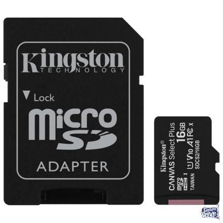 Memoria MicroSDHC Kingston Canvas Select Plus 16GB Clase 10