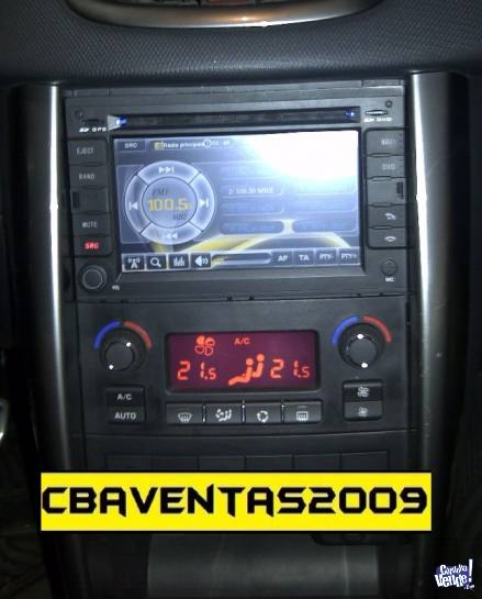 Stereo CENTRAL MULTIMEDIA Peugeot 207CC Gps MP3 Bluetooth