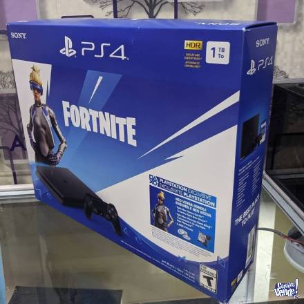 Sony Playstation Ps4 Hdr 500gb Negro Nuevo Fornite