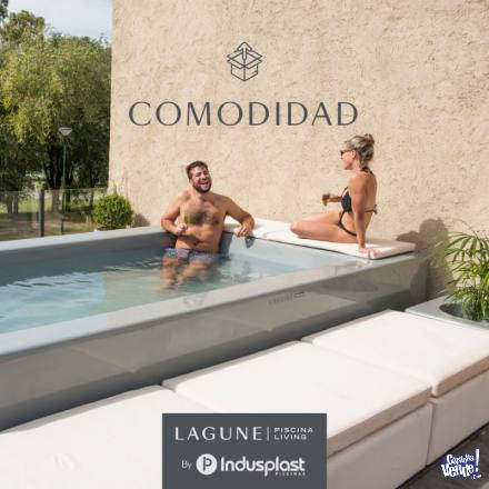 Piscina Lagune. pileta personalizable, piscina living en Argentina Vende