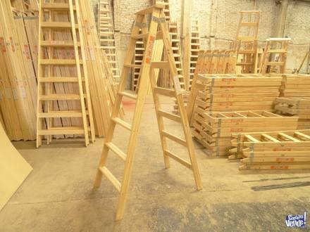 Escalera de madera tipo combinada doble acceso N7 SCALA