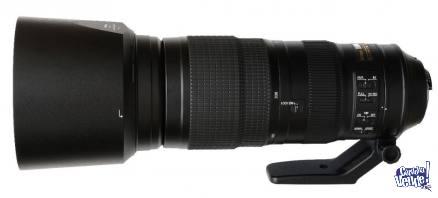 NIKON 200-500mm AF-S f/5.6E ED VR - Usado - EN CAJA