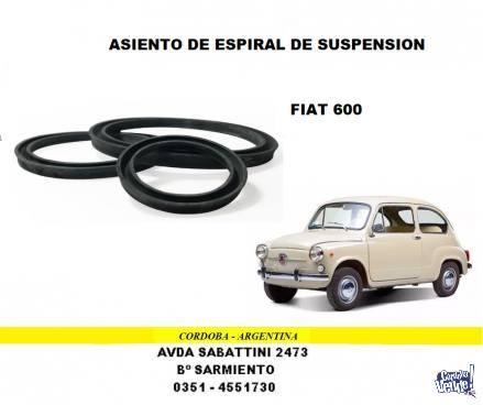 ASIENTO DE ESPIRAL DE SUSPENSION FIAT 600