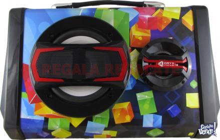 Parlante Portatil Bluetooth FM MP3 Karaoke ORYX MJ-B5