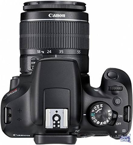 Canon Eos Rebel T6 Premium Kit 18-55mm+75-300mm+maletín+16g