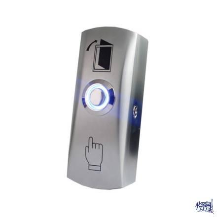 Botón Pulsador De Salida Led - Siccba - Control De Acceso en Argentina Vende