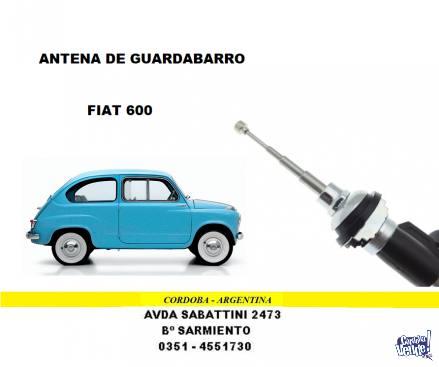 ANTENA GUARDABARRO FIAT 600 - 125 - 128
