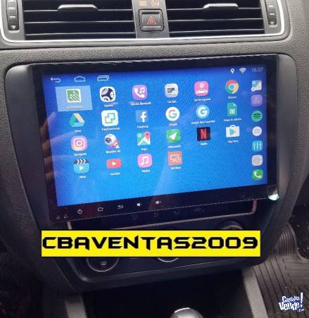 Stereo CENTRAL MULTIMEDIA VW VENTO 10'' ANDROID BLUETOOTH TV
