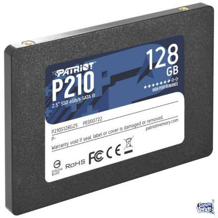 Disco SSD Estado Sólido Patriot P210 128GB SATA3