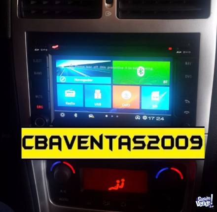 Stereo CENTRAL MULTIMEDIA Peugeot 307 Gps MP3 Bluetooth