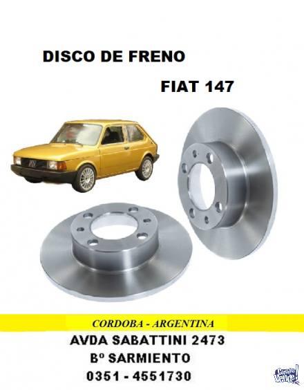 DISCO DE FRENO FIAT 147