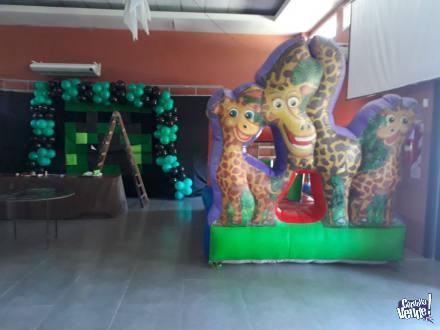 Alquiler de castillos inflables en Argentina Vende