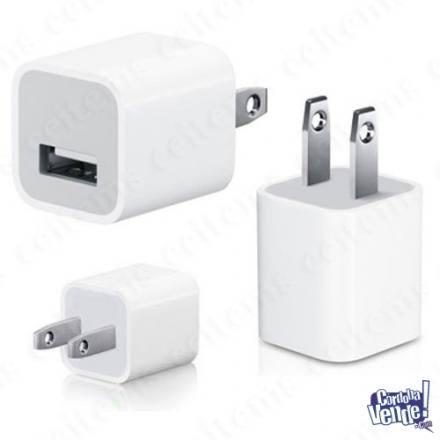 iPhone 3 4 5 6 iPod iPad cargador PARED AUTO  simil ORIGINAL