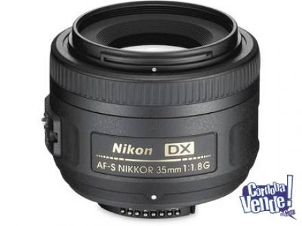 Lente Nikon 35mm 1.8G con Motor- Nuevos- FUNDA+ PARASOL