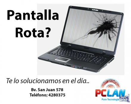 Servicio Técnico Notebooks, Tablets y PCs