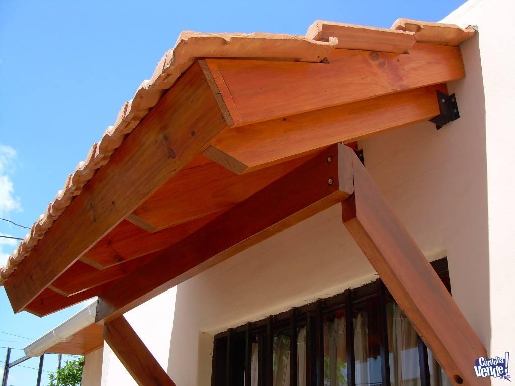 techos y pergolas de madera
