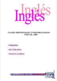Clases de Inglés, traducciones, ingresos a la facultad