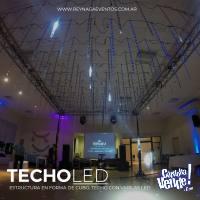 Techo led para eventos