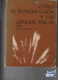 INTRODUCCION A LAS CIENCIAS FISICAS  IPS  Reverte 1973 $2900