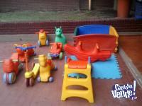 ALQUILER DE PLAZAS BLANDAS Y LIVING KIDS