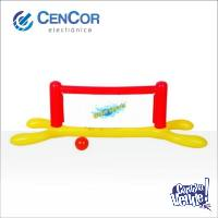 Red De Voley Inflable Para Pileta Jilong!