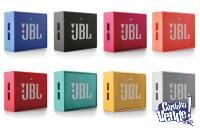 parlantes bluetooth jbl go  portatiles  originales 1 año de