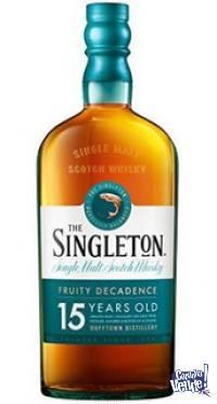 Whisky Singleton 15 años y 18 años