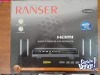 Reproductor Dvd Ranser Dv Ra33