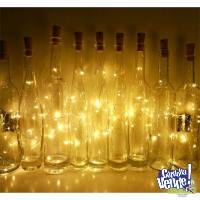 Corchos De Luces Led Para Decorar Botella - 10 UNID.
