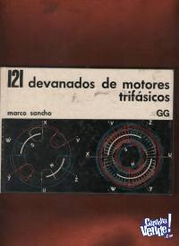 121 DEVANADOS DE MOTORES TRIFASICOS  M.Sancho  $ 650