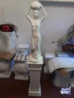 Vendo columna + escultura