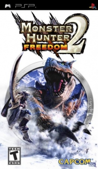 JUEGOS PSP - Monster Hunter 2 Freedom y FIFA 11 - UMD-LEER!!