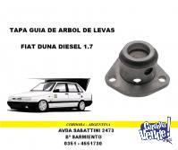 TAPA GUIA DE ARBOL DE LEVAS FIAT DUNA - FIORINO DIESEL 1.7