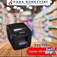 IMPRESORA COMANDERA T�RMICA 80mm SYSTEL FASTICKET USB RED